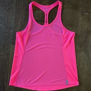 Under Armour Neon Pink Workout Tank
